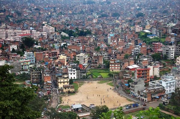 Kathmandu View, From Swayambunath Hill