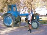Трактор!