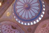 Голубой купол мечети