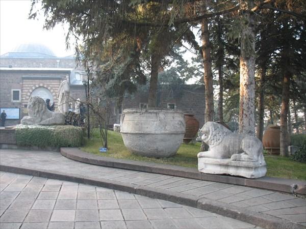Двор музея Анатолийских культур