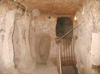 В подземном городе Каймаклы