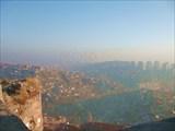 Вид на Анкару со стен крепости