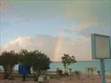 Радуга над Эгейским морем