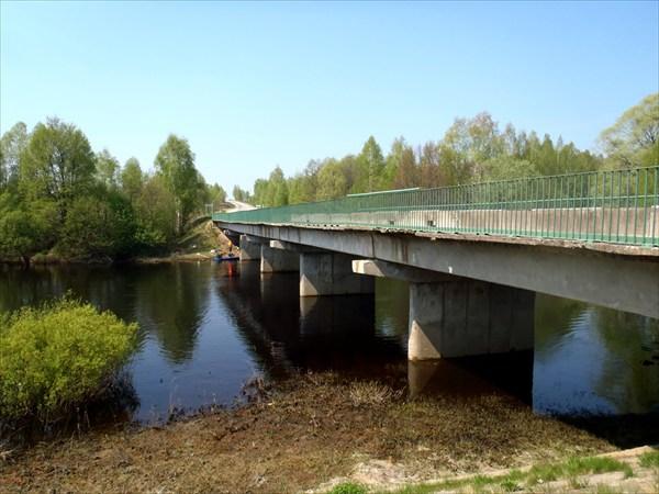 Мост. Конец маршрута.