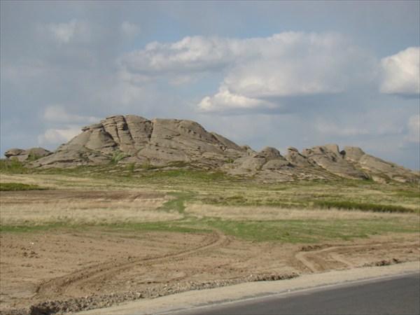 Дорога Семей - Усть-Каменогорск 1