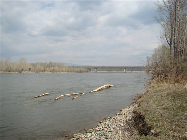 Мост через Бухтарму