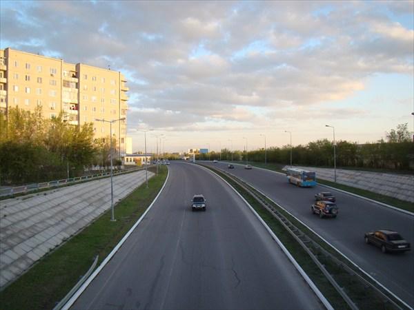 Дорога на мост