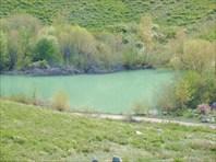 Озеро возле карьера.