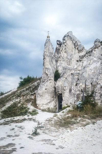Дивногорье. Пещерный храм в Малых Дивах