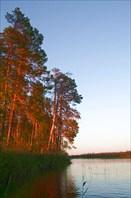 Остров стоянки 1 дня (вид справа)