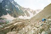 стоянка на краю Цейского ледника