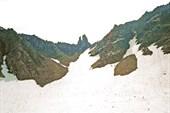 перевал Зуб со стороны Баддона