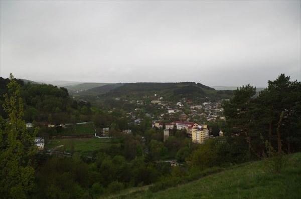 Вид с горы на Кисловодск