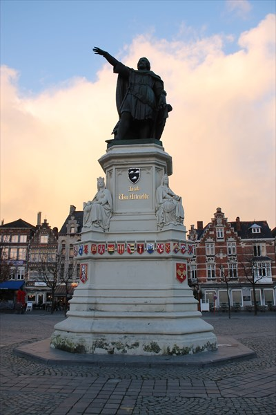 Памятник Якобу ван Артевельде