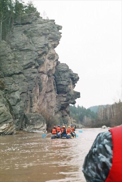 Вот она, легндарная скала, куда все лезут фотографироваться.