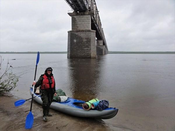 К походу готовы! Мост через Усу.