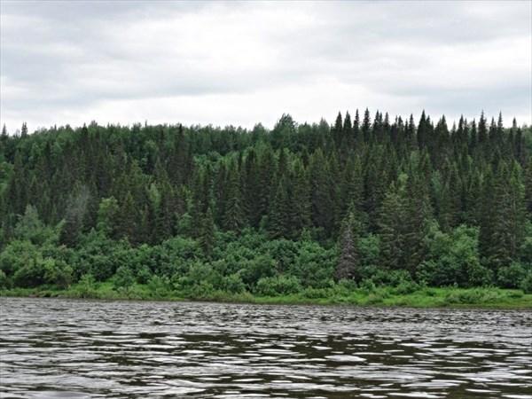 Печора, правый берег