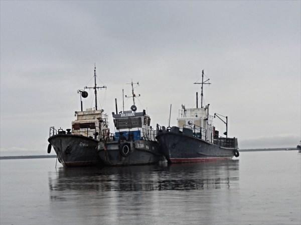 Усть-Цильма, корабли