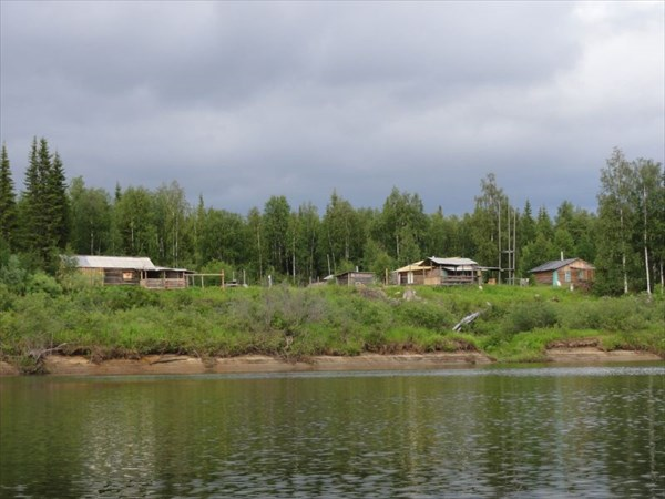 Дачный поселок на р.Низева
