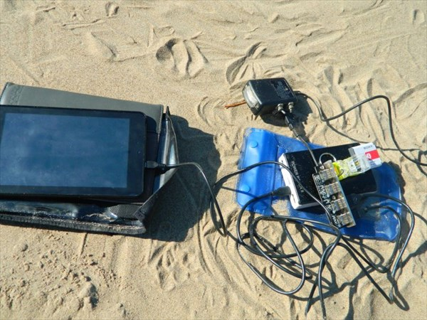 Зарядка электроники от солнечной батареи