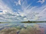 Облака..Напротив Усть-Ижмы
