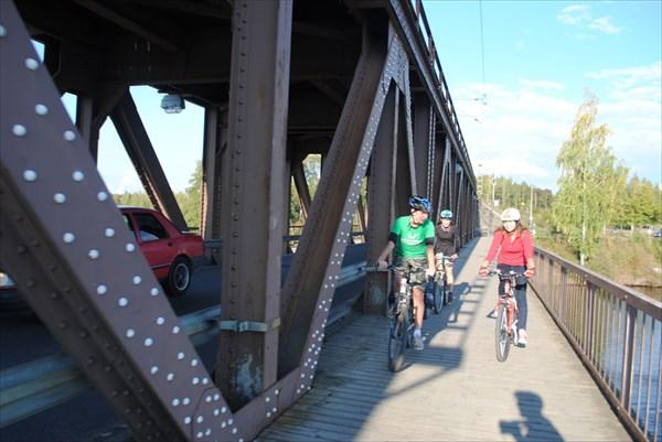 Мост через Вуоксу