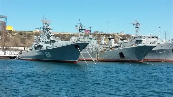 Былая гордость Украинского флота на службе России.