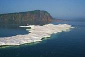 Здесь льды можно увидеть в августе