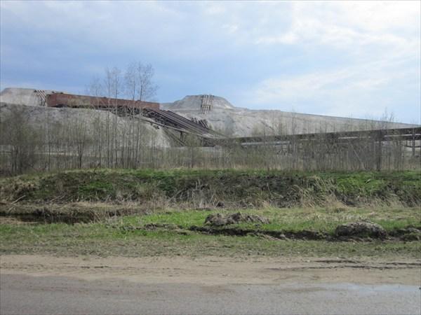 Золоотвал Эстонской электростанции