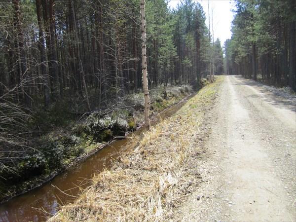 Дорога для эстонской погранслужбы