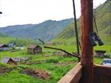 Вид на посёлок с этой террасы