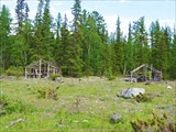 Остатки лагеря геологов