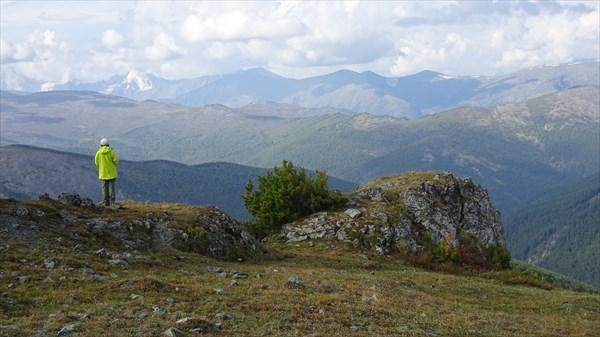 на фото: Ороктойская тропа