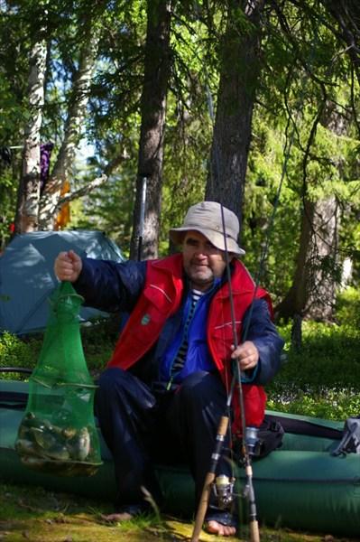 Рыбалка на Канозере - мешок окуней!