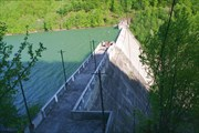 Около Ольшанского (Тереблинского) водохранилища...