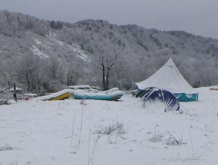 Лагерь утром 30 апреля