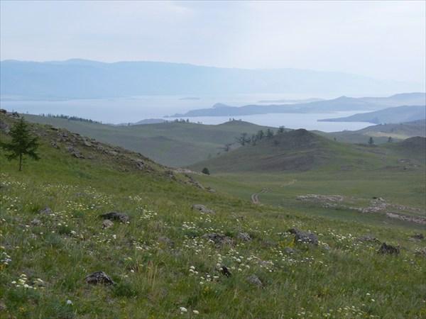 Дорога вдоль Байкала