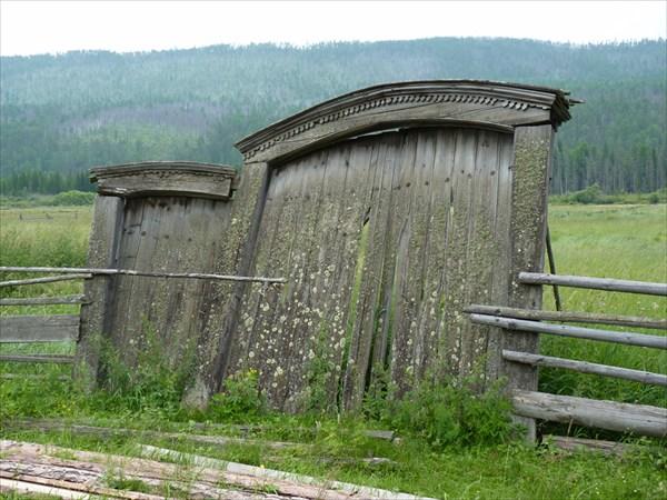 Деревянное зодчество Куртуна