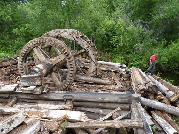Демонтируемая мельница XVIII века