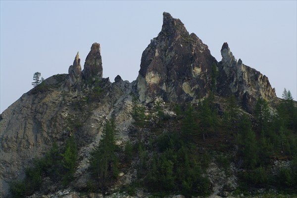 Гора Столбы на средней Колыме #2