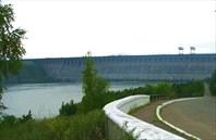 Фото 5. Плотина Братской ГЭС