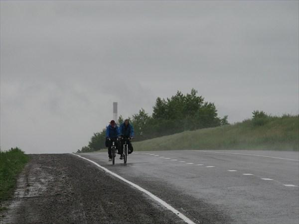дождь не дождь, относительно.