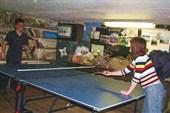 Паралелльно проводился чемпионат по пинг-понгу