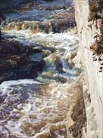 р. Миасс  в каньоне