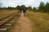 Мимо п. Белое озеро