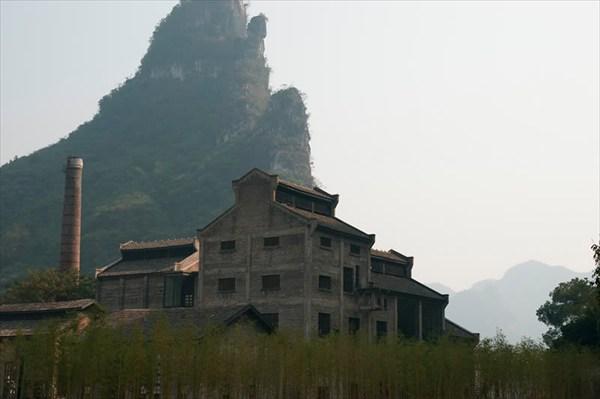 Китай, Гуанси, дорога Гуйлинь-Яншо