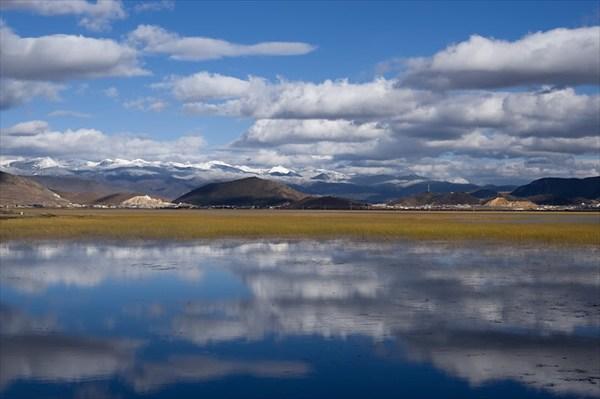 Озеро Напахаи, китайское предтибетье, высота 3200м.