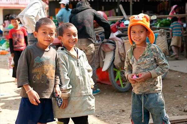 Северный Лаос.