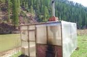 Баня на турбазе