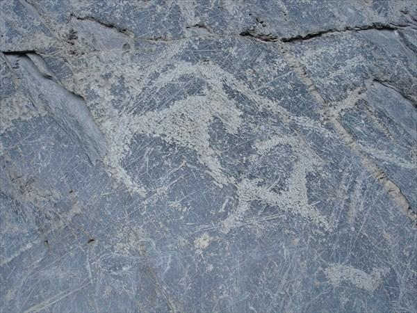 DSC03295 Скальная писаница в долине р. Кучерла